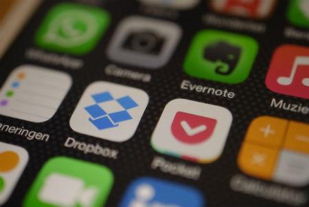 Dropbox para móviles