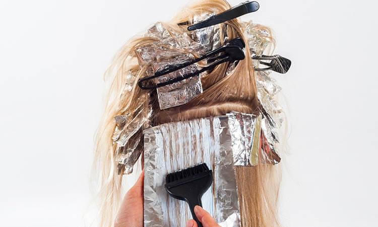 Alergia a los tintes de cabello