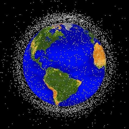 ¿Qué es la basura espacial?
