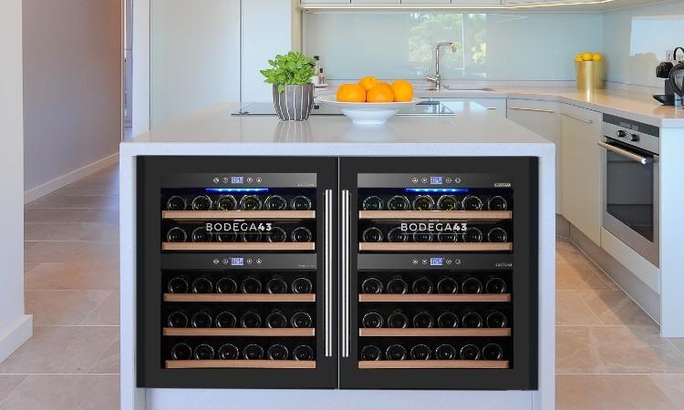 Vinotecas encastrables, un lujoso complemento que los amantes del buen vino deben tener